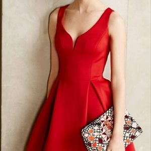 Anthropologie Ali Ro fit and flare mini size 10
